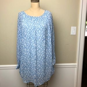 Urban outfitters daisy pattern swing dress